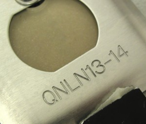 Engraved outlet plate