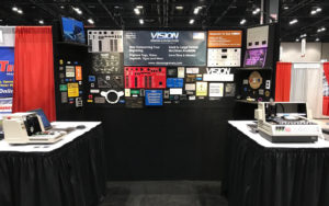 Vision's Booth at the 2017 Electric-Power Expo