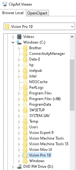 Select ADA template folder.